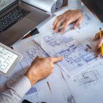 costruzione architetti al lavoro