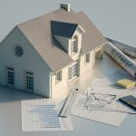 modello di casa abitazione