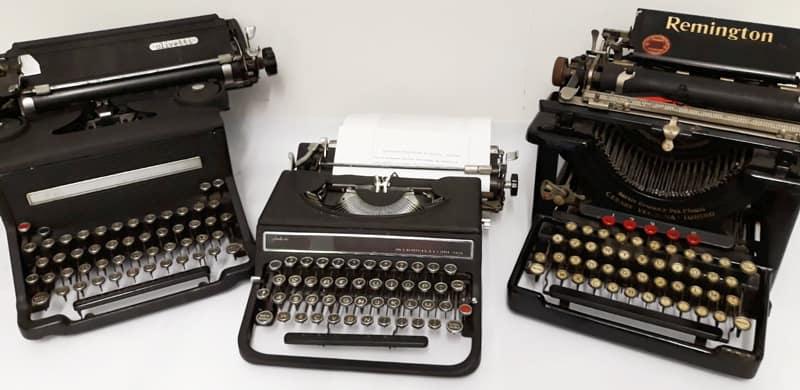 real estate macchina da scrivere